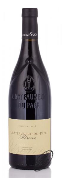 Chateauneuf du Pape Reserve 2018 15% vol. 0,75l