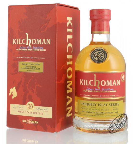 Kilchoman Vintage 2013 Sauternes Cask Islay Whisky 55,8% vol. 0,70l