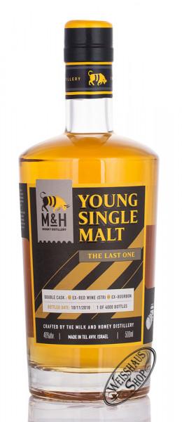 M&H Young Single Malt Whisky 46% vol. 0,50l