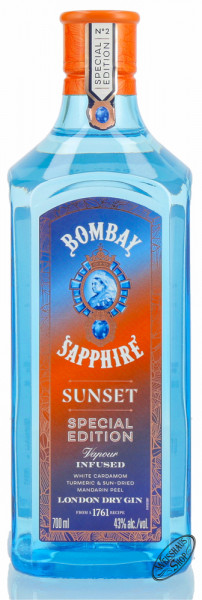 Bombay Sapphire Sunset Gin 43% vol. 0,70l