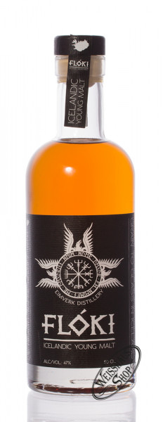 Floki Icelandic Young Malt Whisky 47% vol. 0,50l