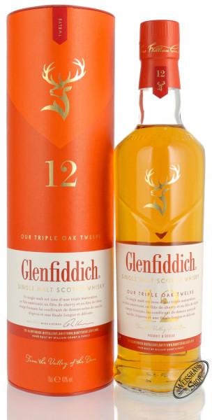 Glenfiddich 12 YO Triple Oak Whisky 40% vol. 0,70l