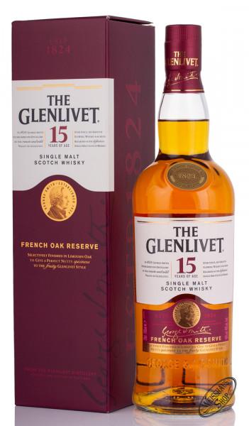 The Glenlivet 15 YO French Oak Reserve Whisky 40% vol. 0,70l