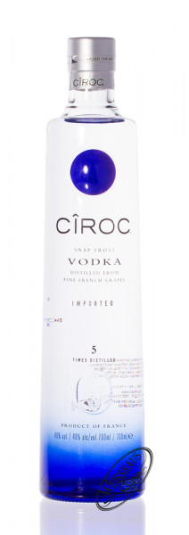 Ciroc Ultra Premium Vodka 40% vol. 0,70l