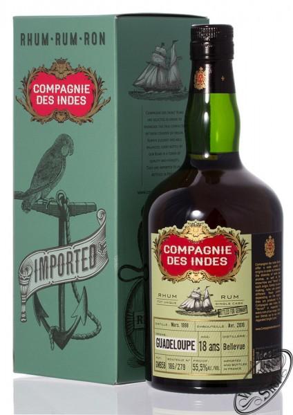 Compagnie des Indes Guadeloupe 18 YO Rum 55,5% vol. 0,70l