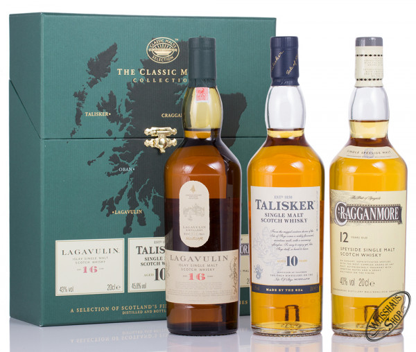 The Classic Malts Collection strong 3 x 0,20l