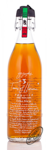 Tears of Llorona Extra Anejo 5 YO Tequila 43% vol. 1,0l
