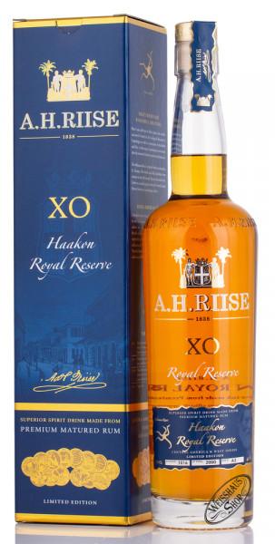 A.H. Riise XO Kong Haakon Royal Reserve Rum 42% vol. 0,70l