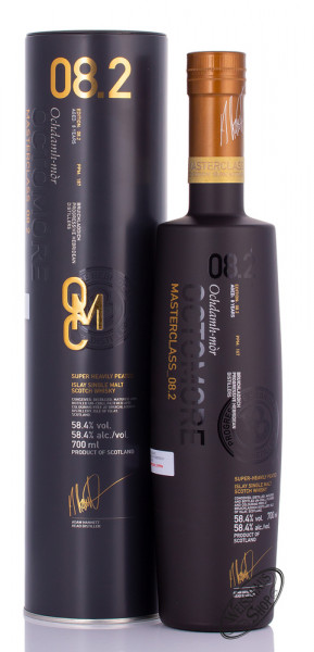 Bruichladdich Octomore Masterclass 08.2 Islay Whisky 58,4% vol. 0,70l