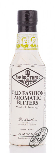 Fee Brothers Old Fashioned Bitters 17,5% vol. 0,15l
