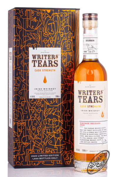 Writer's Tears Rare Cask Strength 2020 Irish Whiskey 54,5% vol. 0,70l