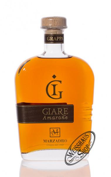 Marzadro Grappa Le Giare Amarone 41% vol. 0,70l