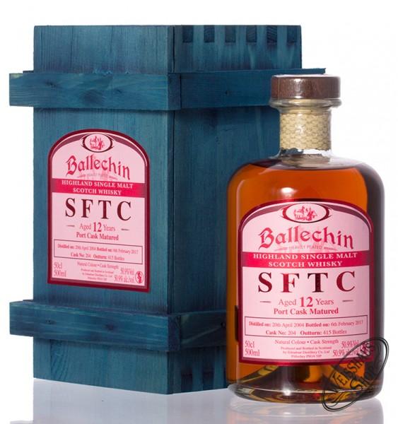 Ballechin 2004 SFTC Port Cask Whisky 50,9% vol. 0,50l