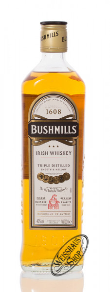 Bushmills Original Irish Whiskey 40% vol. 0,70l