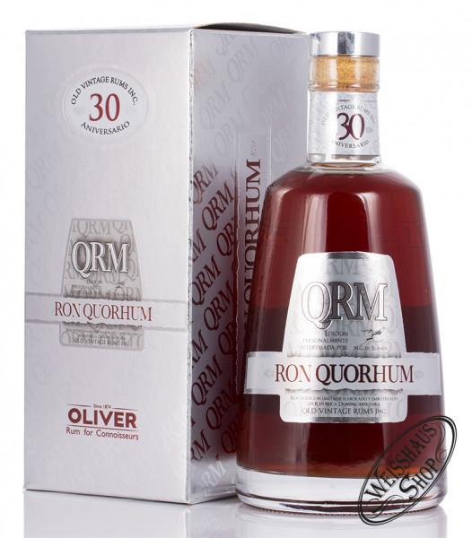 Quorhum QRM 30 Anos Solera 40% vol. 0,70l