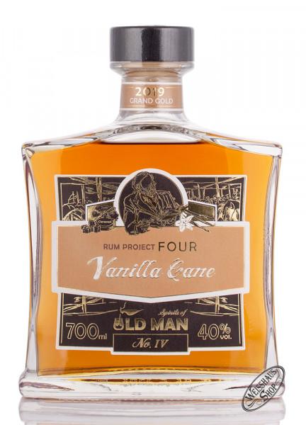 Old Man Project Four Vanille Cane Spirit 40% vol. 0,70l