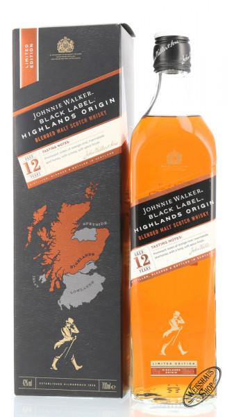 Johnnie Walker Black Origins Highland Whisky 42% vol. 0,70l