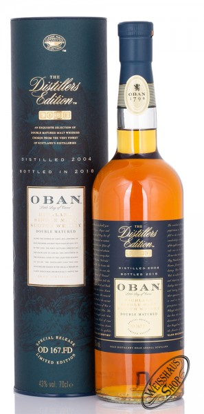 Oban Distillers Edition 2018 Whisky 43% vol. 0,70l