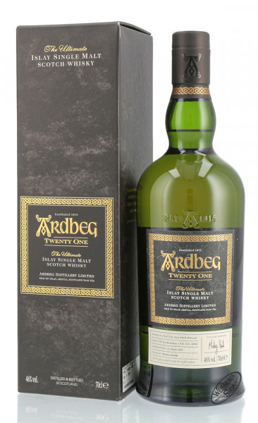 Ardbeg 21 YO Committee Release 2016 Whisky 46% vol. 0,70l