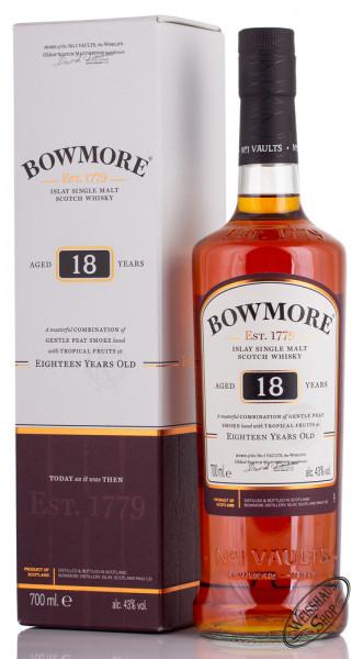 Bowmore 18 YO Islay Single Malt Whisky 43% vol. 0,70l