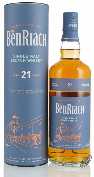 BenRiach 21 YO Single Malt Whisky 46% vol. 0,70l