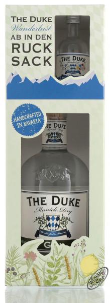 The Duke Munich Dry BIO Gin Geschenk-Set mit Miniatur 46% vol. 0,75l