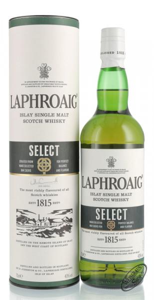 Laphroaig Select Single Malt Islay Whisky 40% vol. 0,70l