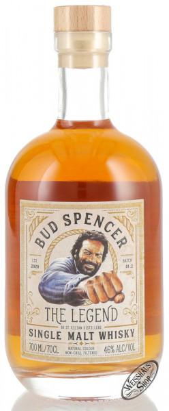 St. Kilian Bud Spencer The Legend Single Malt Whisky 46% vol. 0,70l