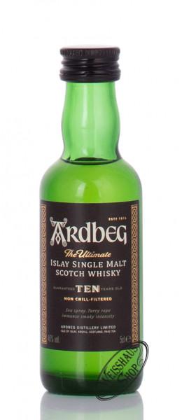 Ardbeg Ten 10 YO Islay Single Malt Whisky 46% vol. 0,05l Miniatur