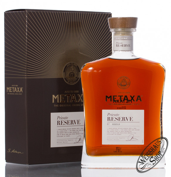 Metaxa Private Reserve 40% vol. 0,70l
