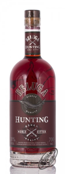 Beluga Hunting Herbal Russian Bitter 40% vol. 0,70l