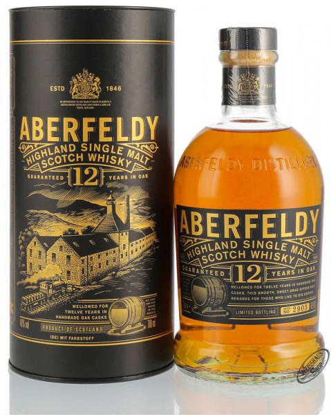 Aberfeldy 12 YO Whisky 40% vol. 0,70l