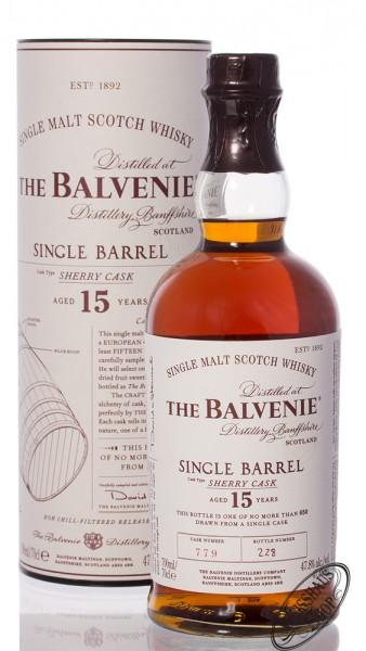 The Balvenie 15 YO Single Barrel Sherry Cask 47,8% vol. 0,70l