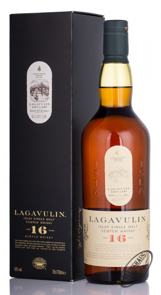 Lagavulin 16 YO Islay Single Malt Whisky 43% vol. 0,70l