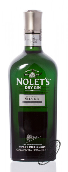 Nolet's Dry Gin Silver 47,6% vol. 0,70l