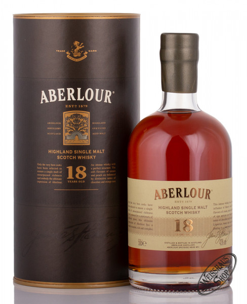 Aberlour 18 YO Whisky 43% vol. 0,50l