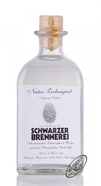 Schwarzer Natur Zirbengeist 40% vol. 0,50l