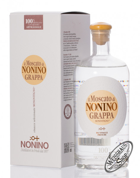 Nonino Grappa Il Moscato Monovitigno 41% vol. 0,70l