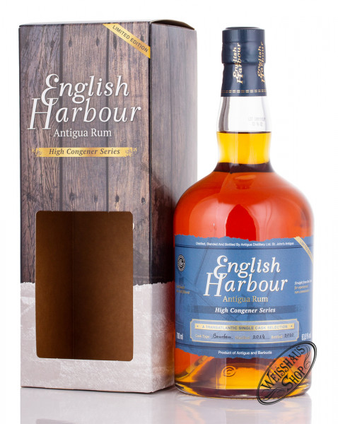 English Harbour High Congener Series Limited Edition Rum 63,8% vol. 0,70l