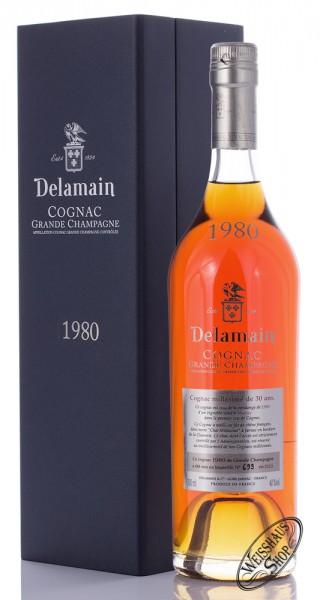 Delamain Millesime Vintage 1980 Cognac 40% vol. 0,70l