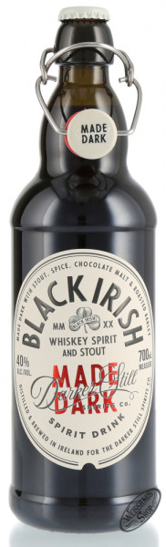 Black Irish Whiskey with Stout 40% vol. 0,70l