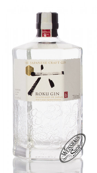 Roku Japanese Craft Gin 43% vol. 0,70l