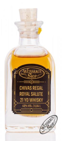 Chivas Regal Royal Salute 21 YO Whisky 40% vol. 0,04l Weisshaus Sample