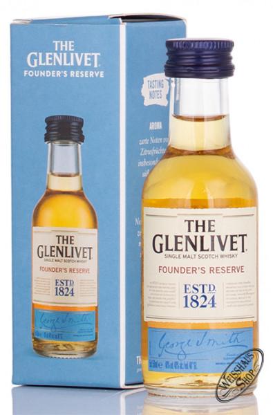 The Glenlivet Founders Reserve Whisky 40% vol. 0,05l