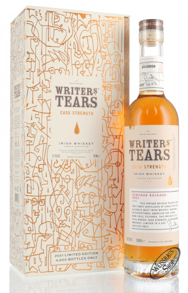 Writer's Tears Rare Cask Strength 2021 Irish Whiskey 54,2% vol. 0,70l