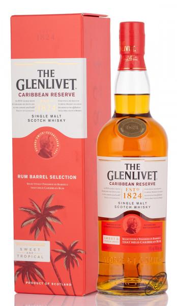 The Glenlivet Caribbean Reserve Whisky 40% vol. 0,70l