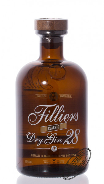 Filliers Dry Gin 28 46% vol. 0,50l
