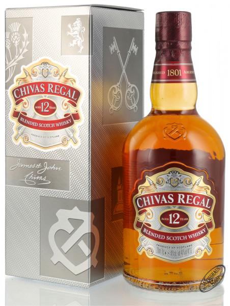 Chivas Regal 12 YO Blended Scotch Whisky 40% vol. 0,70l