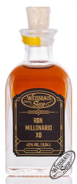 Ron Millonario XO Rum 40% vol. 0,04l Weisshaus Sample