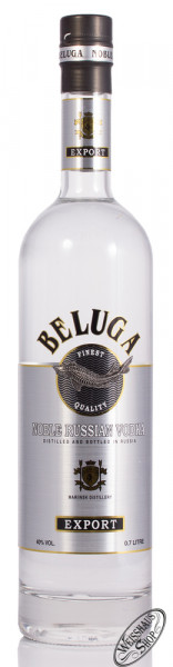 Beluga Export Noble Russian Vodka 40% vol. 0,70l